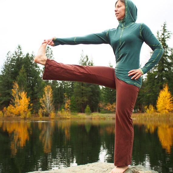 Organic Hemp Yoga Pant Salamba Pant By IntertwinedDesigns