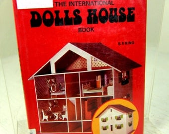 The International Dolls House Book Vintage Dollhouse & Furniture Making Book with Patterns MUST SEE Modern Bungalow Gypsy Caravan and More!