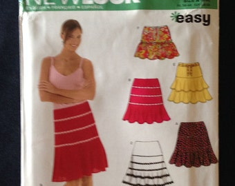 New Look Skirt Sewing Pattern Multi-size