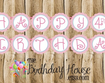 Ballet Friends Birthday Party Banner - Custom Ballerina Party Banner by The Birthday House