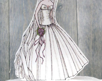 Ballroom Beauty Paper Bride Doll Mix and Match - 19100