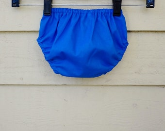 Bloomers 0-24 months Royal Blue Diaper Cover