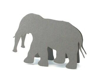 Elephant Place Cards set of 10 - Escort Cards,Wedding Place Cards,Baby Shower,Wedding Seating Card,Safari Animals,Zoo Wedding,Animals,Rustic