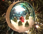 Santa Honey Cap Ornament