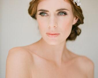 FLORENCE | gold bridal crown, wedding headpiece, boho bridal headpiece