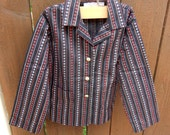 Vintage boys 1970s button up size 5