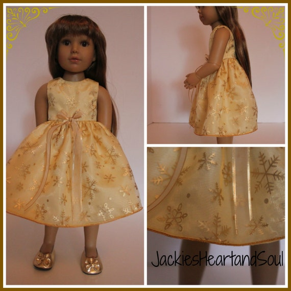 8e46d0df2d1 Holiday dresses are a great addition to all dolls holiday wardrobes! Check  out this stunning dress for your Kids N Kat s Doll offered at  20 click  here for ...