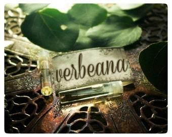 verbeana - all natural perfume oil mini sampler twin pack of luscious lemongrass & wildling woods
