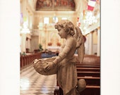 "New Orleans Print ""St. Louis Angel"" Photo, French Quarter Photograph St. Louis Cathedral Art. Fine Art Print. 8x10, 11x14, 16x20, 20x24"
