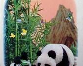 1973 PANDAS PUPPET Book by Tadasu IZAWA Book