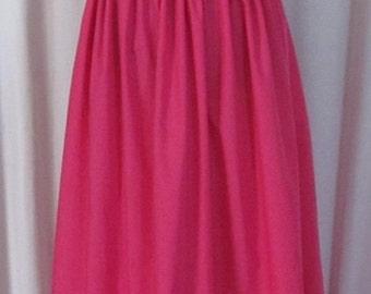 Princess Bubblegum Full Skirt Cosplay Costume Adventure Time Adult Women's Size Custom Fit 4 6 8 10 12