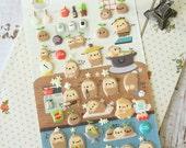 Suatelier GAMJA Little Potato Puffy scrapbooking diary stickers