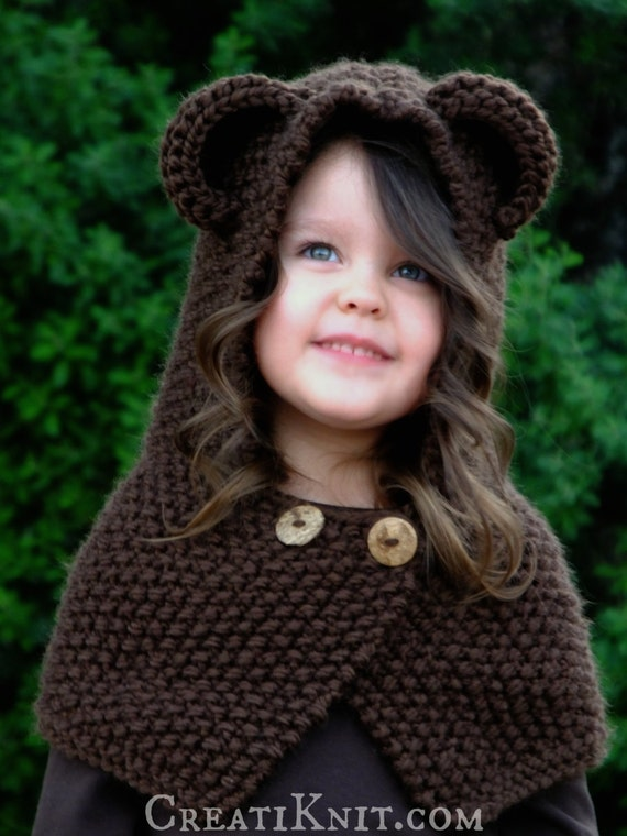 The Briar Bear Cowl Knitting Pattern Baby Toddler Child