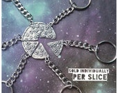 Pizza Slice Keychain friendship gift
