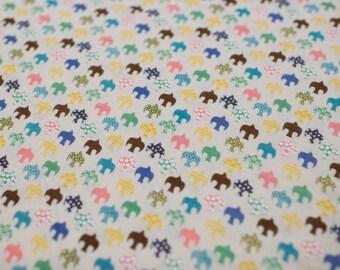 Birds, Multi-Color - Double Gauze Cotton Fabric