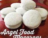 Angel Food Macarons ~ Set of 8