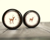 Deer Pill Boxes - Set  0f  2 - Wedding Ring Box