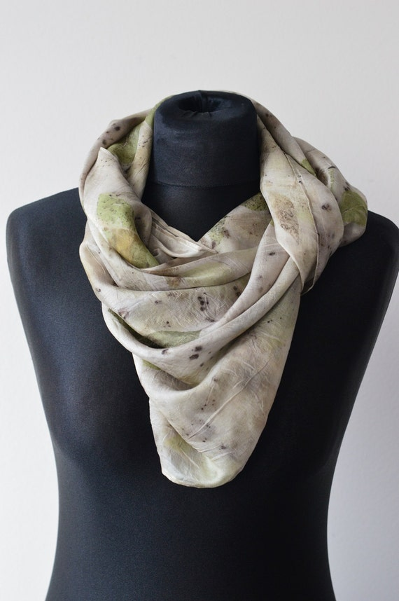 silk scarf dyed scarf scarf dyed by
