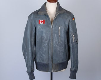 Punk flight jacket – Etsy