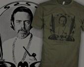 Alan Watts T-Shirt - Alan Watt Buddhist Philosopher Shirt - The Way of Zen Buddhism Shirt - FREE SHIPPING