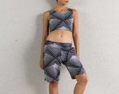 Womens Shorts - Yoga Shorts - Activewear - Mens Yoga Clothing