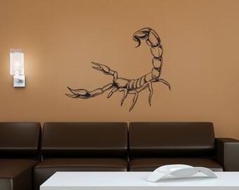 Vinyl Wall Decal Sticker Little Scorpion 1489m