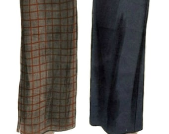 1950s Vintage Skirt Pattern  VOGUE 6577  Unprinted Pattern