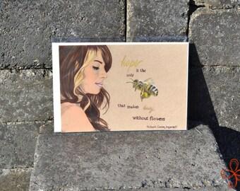 Anesidora and the Bee Print