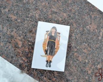 Anesidora Mini Print - Pocket Goddess