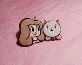 Bee and Puppycat Post Earrings