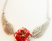 Wing Necklace Recycled Coca Cola Necklace Women Teen Girl Gift Flash SALE Jewelry R32
