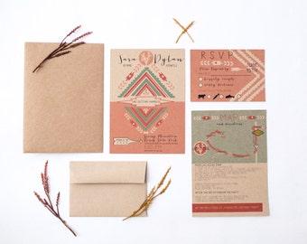 DIY printable- Joshua Tree Invitation Set