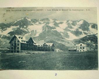 Dauphine - 1925 - Le Lautaret - Vintage French Postcard