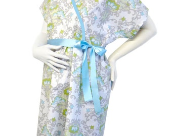 SALE- Maternity Hospital Delivery Gown - Brooks