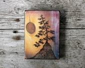 Ancient Tree - Art Block - Print