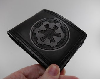 Star Wars Inspired - Imperial Cog Leather Wallet