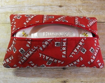 Soft Wipes Case, Red Case IH, Baby Wipes Case, Travel Wipes Case, Diaper Bag Accessory