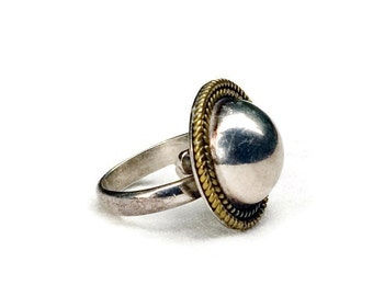 Vintage Mexican Sterling Silver Ring