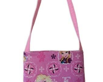 Frozen Glitter Kids Crossbody Bag // Disney Crossbody Purse // Elsa and Anna