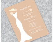 Bridal Shower Tea Party Invitation - DIY - Printable