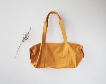 Finest Nubuck Leather Bag. Honey Yellow ... Shoulder Bag ... Gift for Her...Ready to Ship