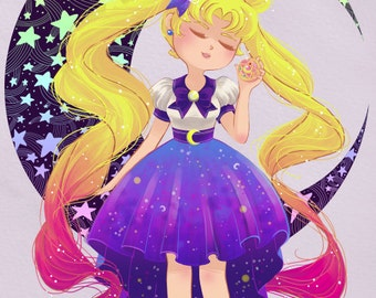 4x6 Sailor Moon Usagi Art Print