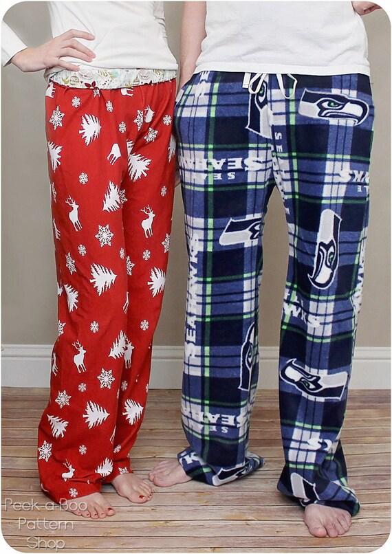 Hit the Hay Pajama Pants: Adult Pajama Pants Sewing Pattern
