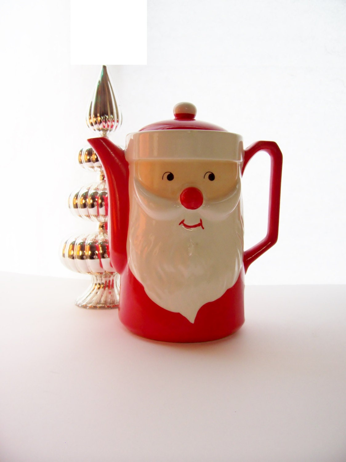 Vintage santa claus ceramic electric hot water pot dan