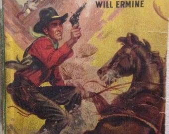 Outlaw on Horseback Vintage Western Paperback , 1946