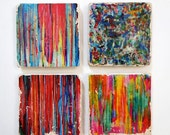 Limited Edition Stardust Collection Coasters - Abstract Set