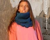 Crochet Pattern PDF - Cowl Cloe Snood - Instant DOWNLOAD