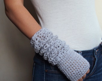 PDF crochet PATTERN Fingerless lace elbow long mittens, woman gloves pattern, armwarmers, wedding, bride, DIY tutorial, Instant download