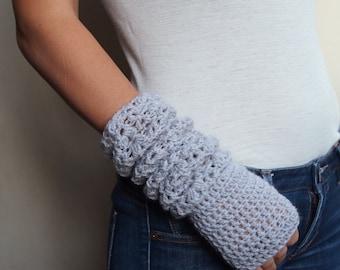 Crochet PATTERN Fingerless lace elbow long mittens, woman gloves pattern, armwarmers, wedding, bride, DIY tutorial, Instant download