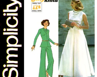1970s blouse vintage pattern butterick 3318 by cynicalgirl for Cowl neck wedding dress pattern